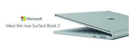 New Microsoft SurfaceBook 2